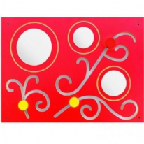 Flowers Manipulative Board with Mirrors